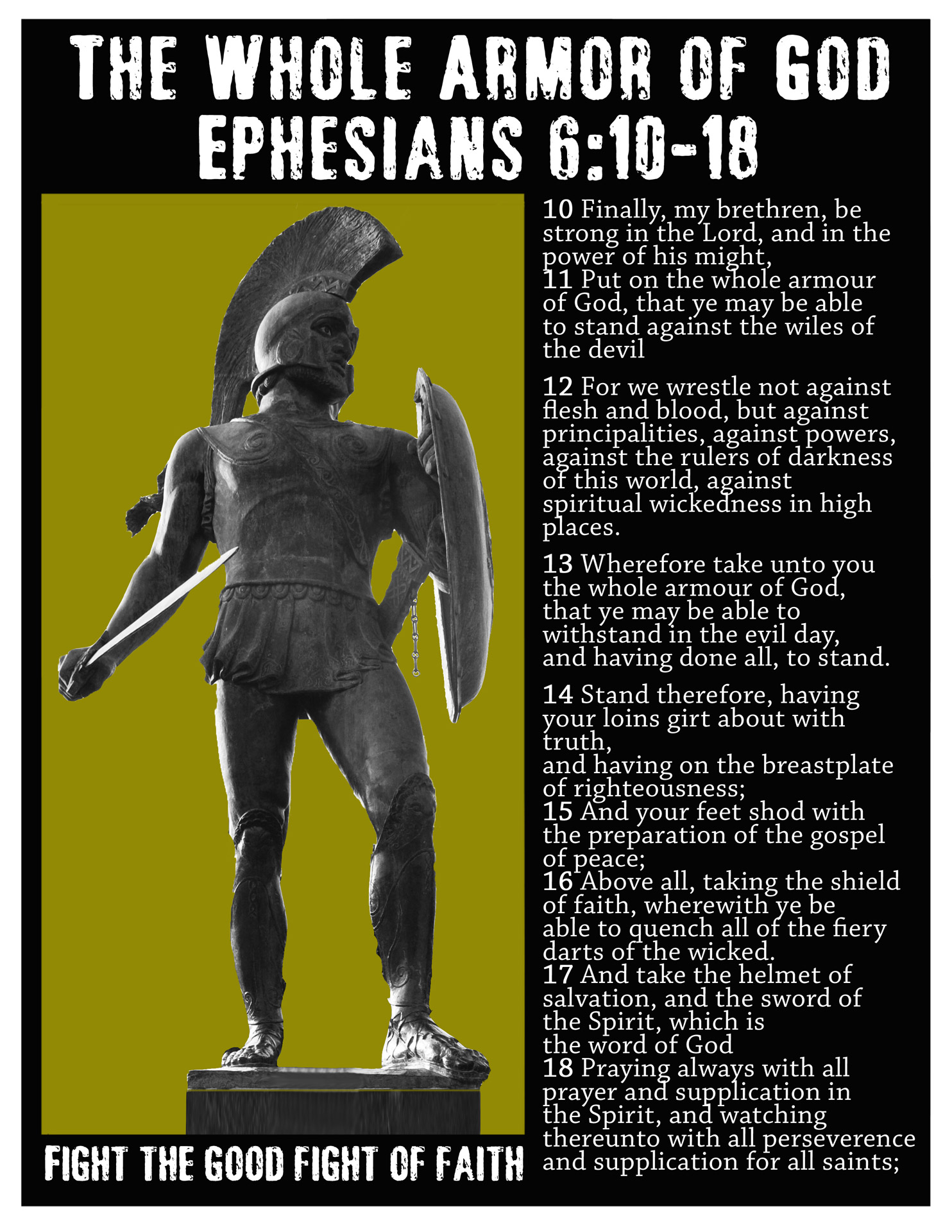 Wear the Armor of God in Ephesians 6 - Bible Study Quest