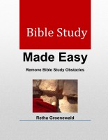 Bible Study Made Easy eBook